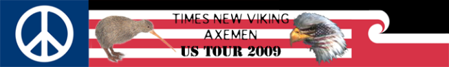 Times New Viking / Axemen US Tour