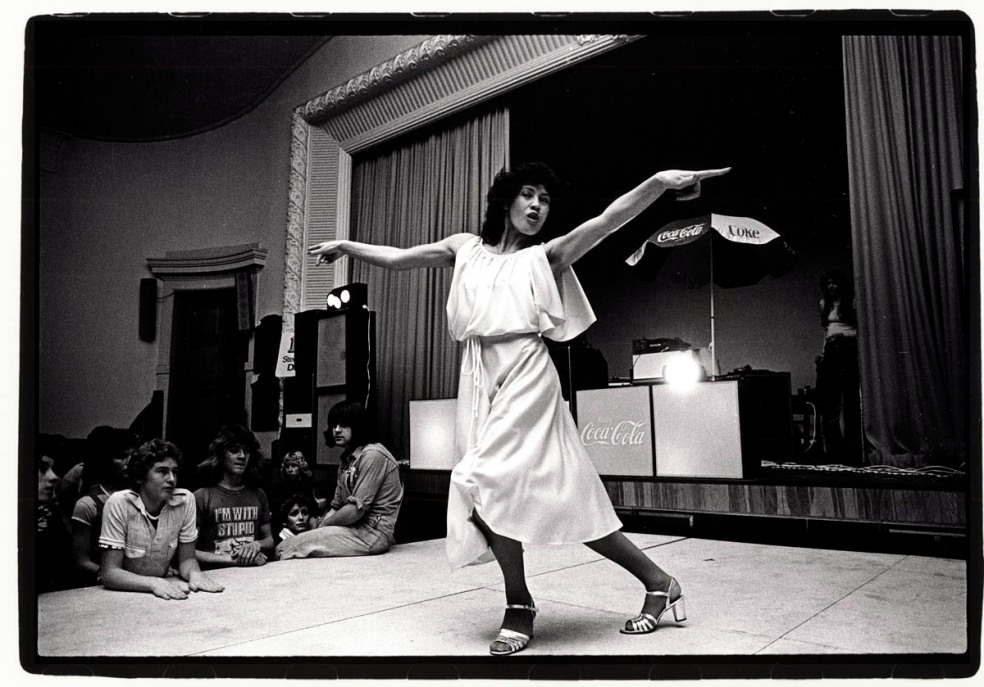 Christchurch's Disco Queen Mere Nihoniho at Caledonian Hall '77 by Kowalski