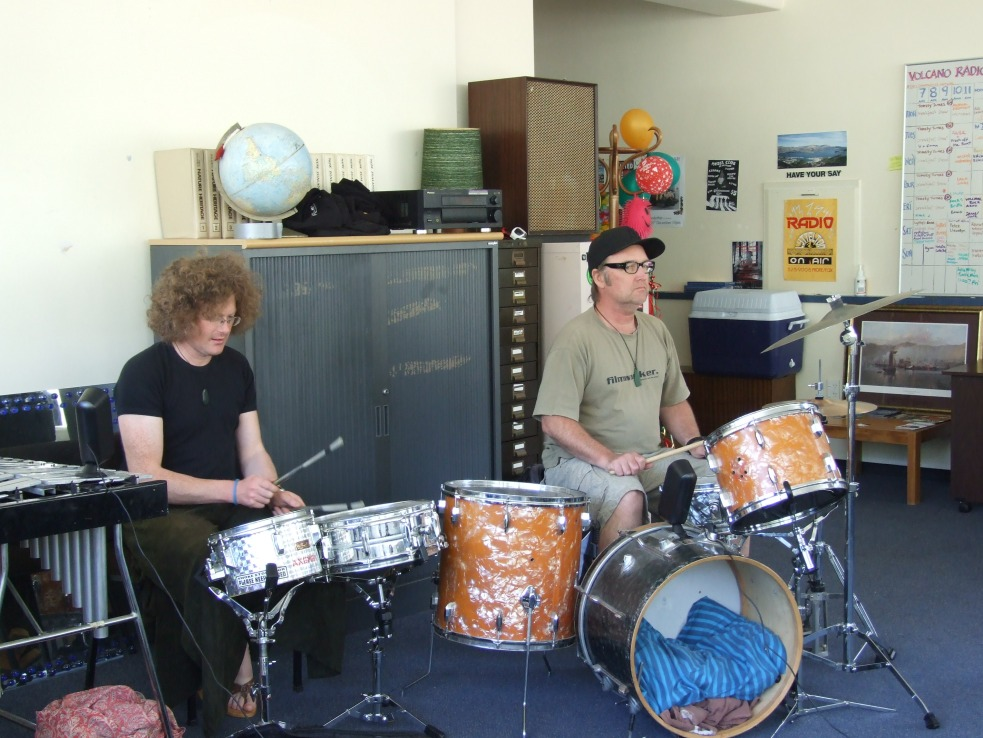 Rustle, Stu Kawowski, Radio Volcano