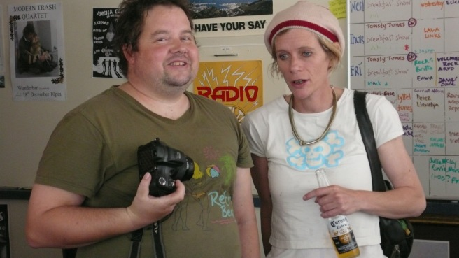 Steve McCabe, Ros Dixon, Radio Volcano