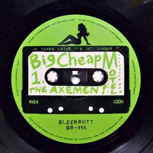 Big Cheap Motel LP Label