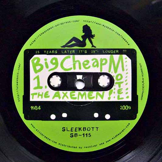 Big Cheap Motel LP Label