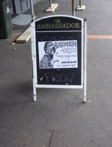 Ambassador Gig, Auckland, March 20 2009