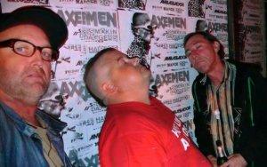 The Axemen - Stu, Steve, Bob