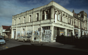 Thistle Hall, in the '80s