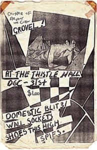 thistle hall poster
