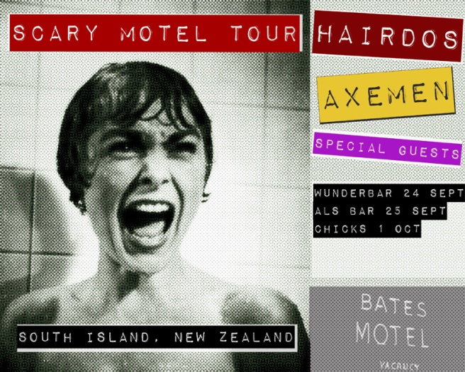 Scary Motel Tour - South Island, NZ, Sept-Oct 2009