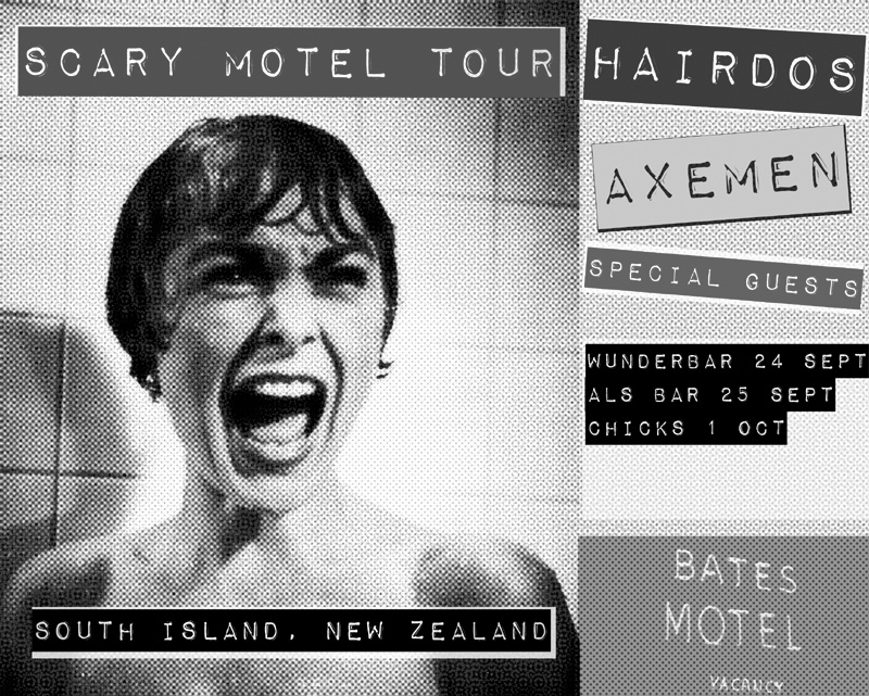 Scary Motel Tour - Sept / Oct 09 , South Island, NZ