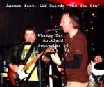 Axemin feat. Liz Hairdo as The New Stu