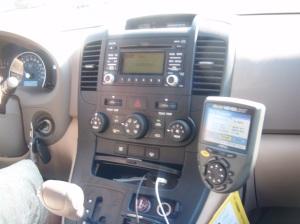 Car Ha the Kia - ooh la la, GPS and USB