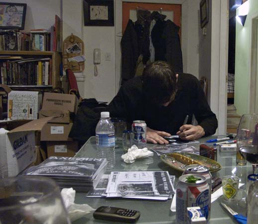 Jared workin on covers