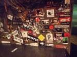 Sticker Wall, Pleasant St, Morgantown