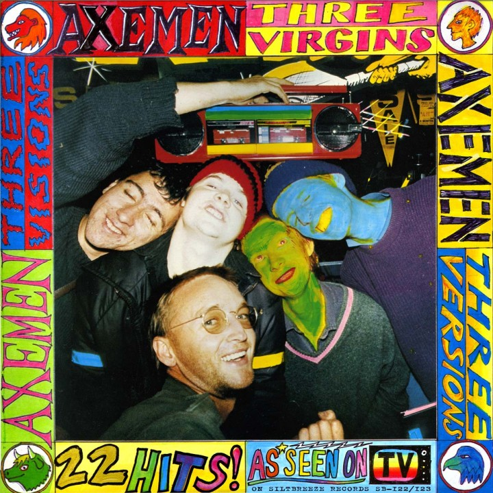 Axemen's '3 Virgins' Double LP NOW AVAILABLE