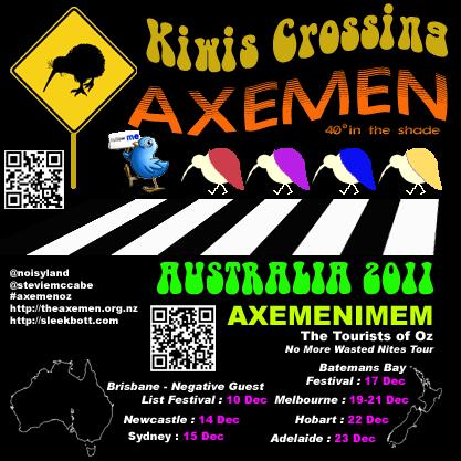 Poster Evolution - Australia 2011 (4/6)