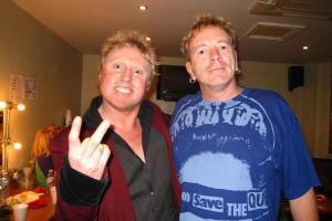 Steve Andrews, John Lydon