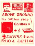 stupic4Above Ground poster Empire 1983