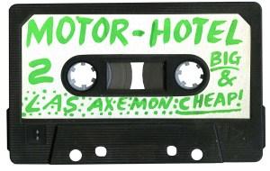 stupic5AXEMEN orig Cheap Motel cassette tape label 2_1200