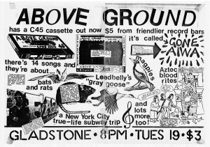 Above Ground poster twk