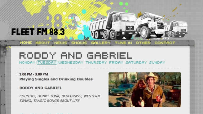 Roddy & Gabriel Fleet FM